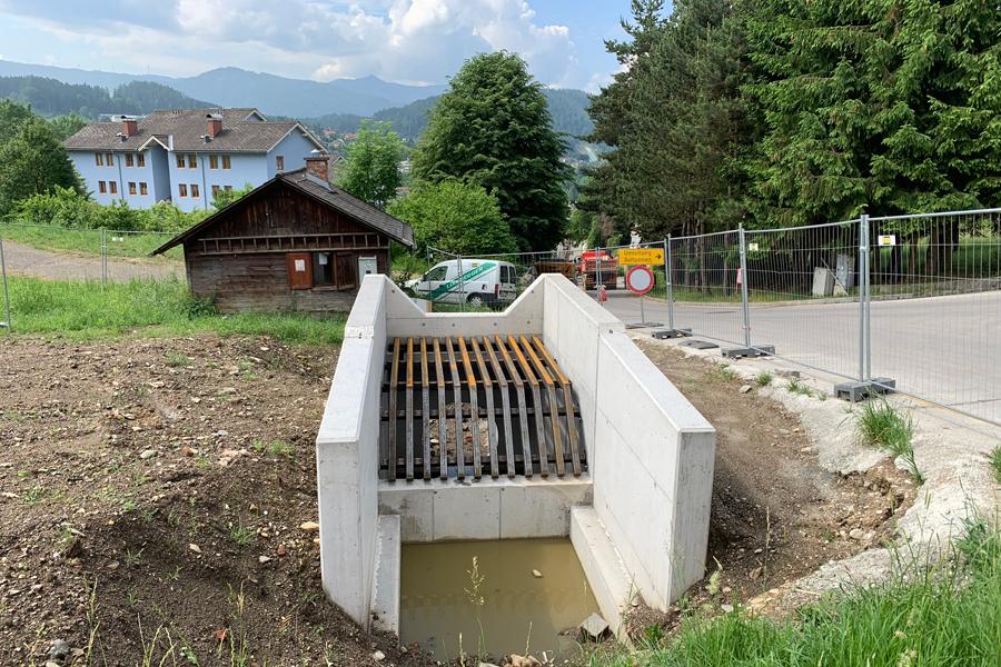 Bauamt Stadtgemeinde Mürzzuschlageinlaufbauwerkmaierhoferbach