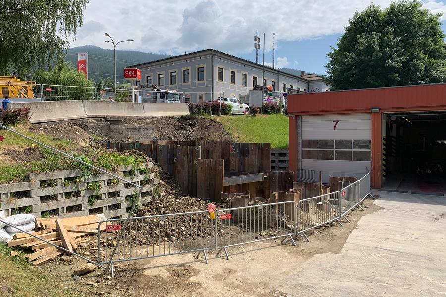 Bauamt Stadtgemeinde Mürzzuschlagstartgrubebahnquerungmaierhoferbach