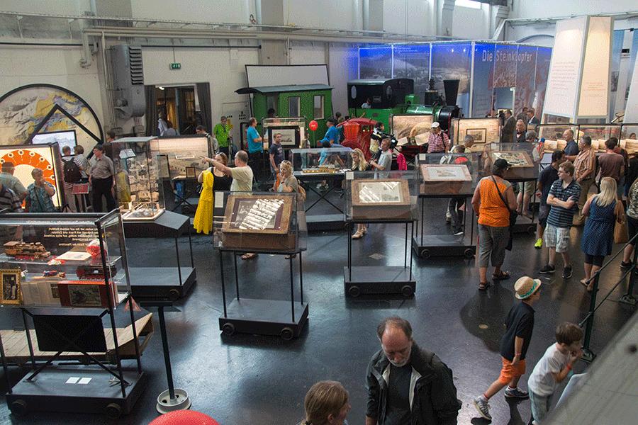Südbahnmuseum von Innnen